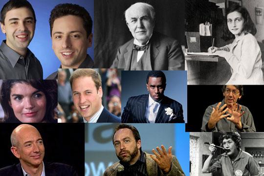 Famous Montessori Alumni and Supporters